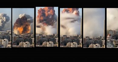Explosion Beirut: massive explosion and shockwave in Lebanon