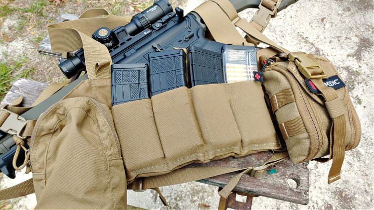 The BFG Ten Speed M4 Chest Rig