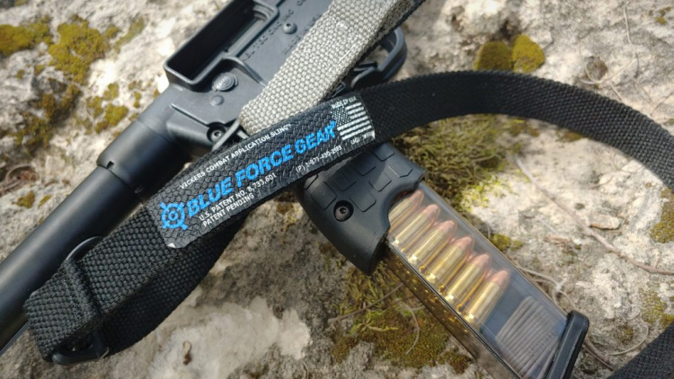 Blue Force Gear Vickers One Sling on KelTec Sub 2000.