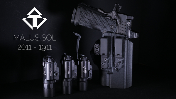 TENICOR MALUS SOL | A Dedicated AIWB Holster for Surefire X300