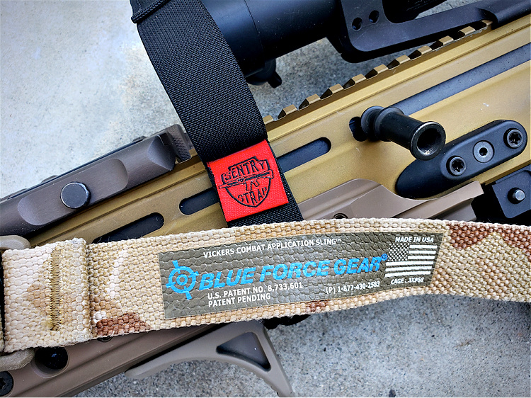 SCAR 17 Accessories: Sling: Blue Force Gear Vickers Sling in Multicam Arid.