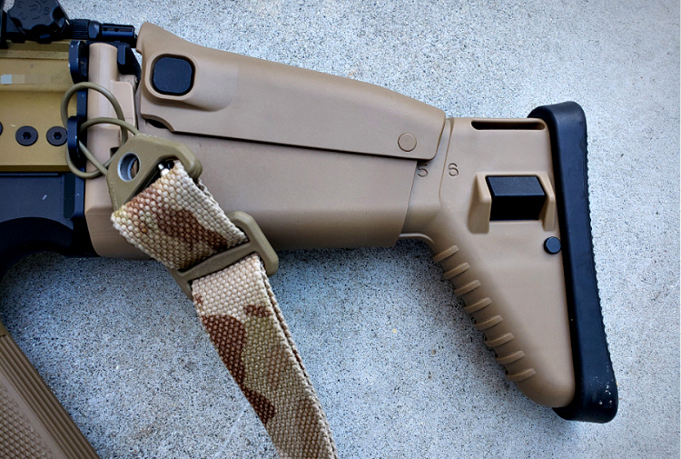 SCAR 17S accessories - Ugg Boot.