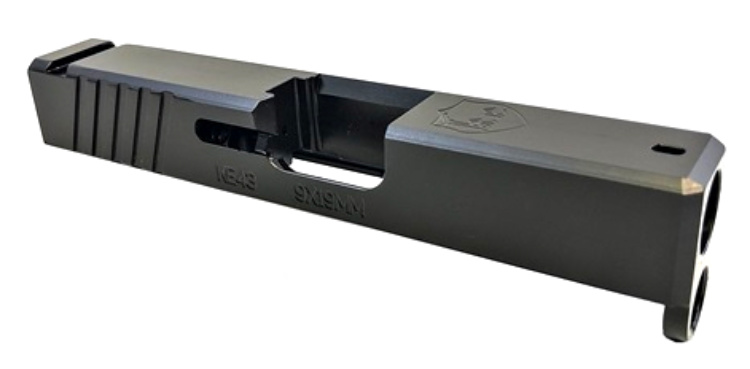 New Glock 43 Slide from KE Arms: the KEAlpha.