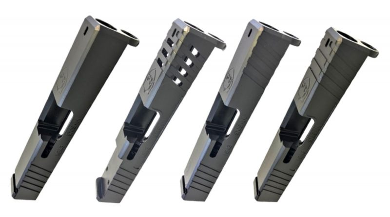 New Glock 43 Slides from KE Arms.